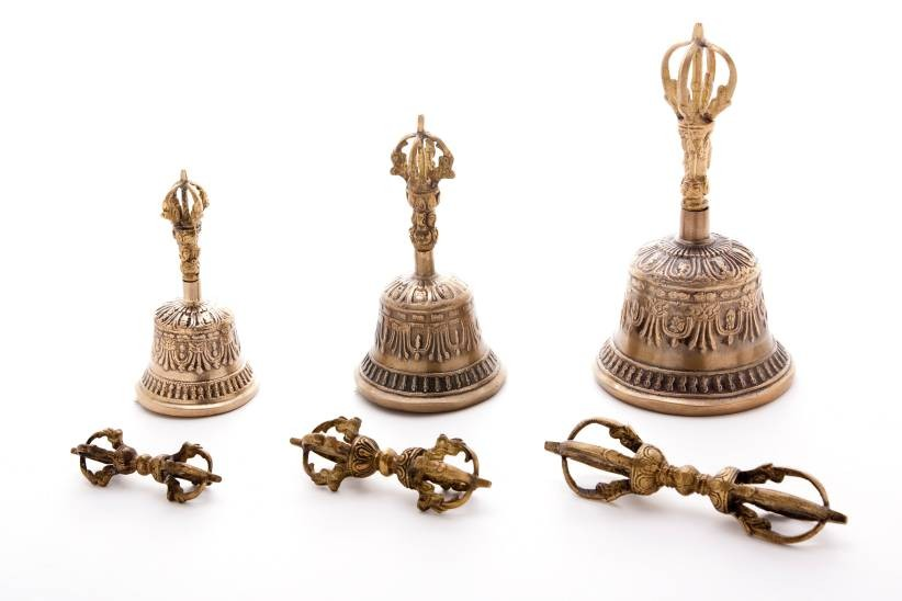Ghanta-and-Dorje-Set-Tibetan-Bell